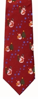Snowmen & Christmas Tree Tie