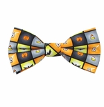 Spooky Halloween Squares Bow Ties (Styles for Men & Boys)