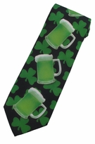 St. Patrick's Green Beer Repeat Necktie
