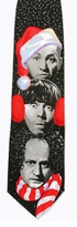 Three Stooges Christmas Tie