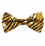 Tiger Print Bow Tie (Various Sizes for Men & Boys)