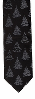 Tone on Tone Christmas Tree Ties / Black