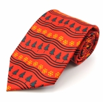 Winter Holiday Tie (Various Sizes Available for Men & Boys)