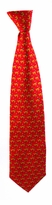 X-Long Dog Pattern Tie