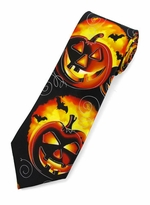 X-Long Jerry Garcia Halloween Tie - Demons