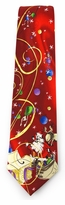 X-Long Jerry Garcia Merry Christmas Santa Ties #1420