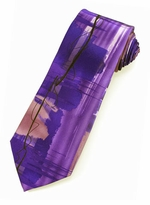 X-Long Jerry Garcia Tie #2026 - Wired Crossroads / Purple