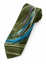 X-Long Jerry Garcia Tie #2046 - South of the Border / Olive