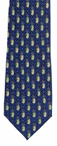 X-Long Mini Golf Bag Pattern Tie
