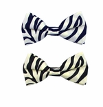 Zebra Print Bow Tie (Various Sizes for Men & Boys)