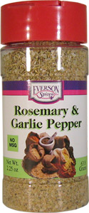 Rosemary and Garlic Pepper
