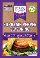 Supreme Pepper Steak Seasoning