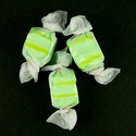 Green Golden Pear Salt Water Taffy Candy Bulk: 5-pounds