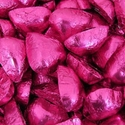 Thompson Fuschia Dark Chocolate Hearts 5 lbs