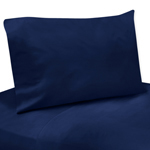 3 pc Navy Twin Sheet Set for Blue and Green Mod Dinosaur Bedding Collection