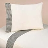 3 pc Twin Sheet Set for Black French Toile Bedding Collection