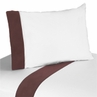3 pc Twin Sheet Set for Deco Dot Modern Bedding Collection