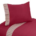 3 pc Twin Sheet Set for Frankie's Firetruck Bedding Collection