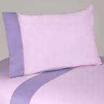 3 pc Twin Sheet Set for Pink and Purple Butterfly Bedding Collection