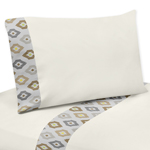 3 pc Twin Sheet Set for Safari Outback Jungle Bedding Collection