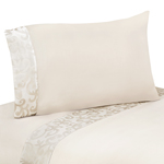 3 pc Twin Sheet Set for Victoria Bedding Collection by Sweet Jojo Designs