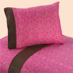 3 pc Twin Sheet Set for Western Cowgirl Bedding Collection - Bandana Print