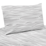 3 pc Wood Grain Print Twin Sheet Set for Woodland Deer Bedding Collection by Sweet Jojo Designs