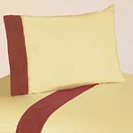 3 pc Twin Sheet Set for Dinosaur Bedding Collection