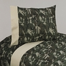 4 pc Queen Sheet Set for Green Camo Bedding Collection
