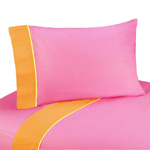 3 pc Twin Sheet Set for Groovy Bedding Collection
