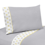 4 pc Queen Sheet Set for Mod Garden Bedding Collection by...