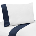 3 pc Twin Sheet Set for Ocean Blue Sea Life Bedding Collection