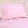 4 pc Queen Sheet Set for Pink and Brown Mod Dots Bedding Collection