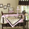 Abby Rose Asian Baby Bedding - 9 pc Crib Set