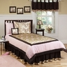 Abby Rose Floral Teen Bedding - 3 pc Full / Queen Set