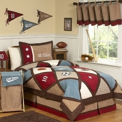 All Star Sports Childrens Bedding - 3 pc Full / Queen Set