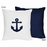 Anchors Away Nautical Decorative Accent Throw Pillow by Sweet Jojo Designs