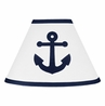 Anchors Away Nautical Lamp Shade by Sweet Jojo Designs
