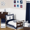 Anchors Away Nautical Toddler Bedding - 5pc Set by Sweet Jojo Designs