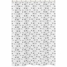 Arrow Print Childrens Bathroom Fabric Bath Shower Curtain for Sweet Jojo Black and White Fox Collection
