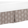 Arrow Print Twin Bed Skirt for Outdoor Adventure Bedding Sets