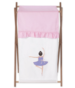 Baby and Kids Clothes Laundry Hamper for Ballet Dancer Ballerina Bedding