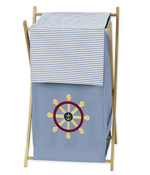 Baby and Kids Clothes Laundry Hamper for Come Sail Away Bedding