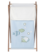 Baby and Kids Clothes Laundry Hamper for Go Fish Bedding Sets