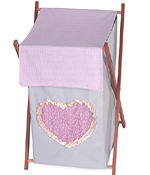 Baby and Kids Clothes Laundry Hamper for Sweet Kayla Bedding