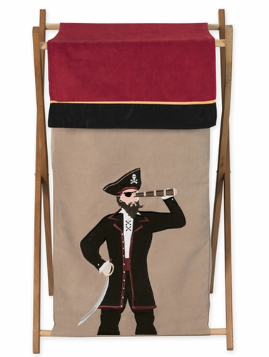 Baby and Kids Clothes Laundry Hamper for Treasure Cove Pirate  Bedding - Click to enlarge