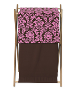 Baby and Kids Clothes Pink and Brown Bella Laundry Hamper by Sweet Jojo Designs