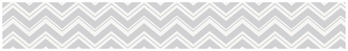 Baby and Kids Modern Wall Border for Yellow and Gray Chevron Zig Zag Bedding by Sweet Jojo Designs - Click to enlarge