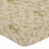 Baby Annabel Fitted Crib Sheet for Baby and Toddler Bedding Sets by Sweet Jojo Designs - Floral Print