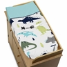 Baby Changing Pad Cover for Blue and Green Mod Dinosaur Collection by Sweet Jojo Designs